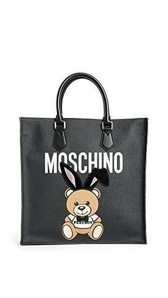 bunny bear black bag