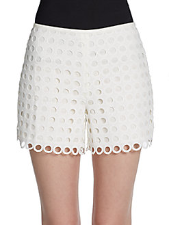 Smith Eyelet Shorts - SaksOff5th