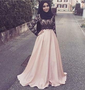 skirt muslim outfit maxi skirt