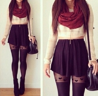 leggings shorts skirt skater skirt