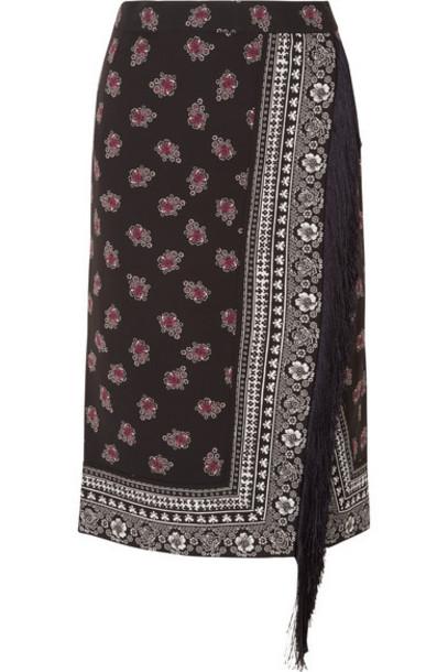 Altuzarra skirt black