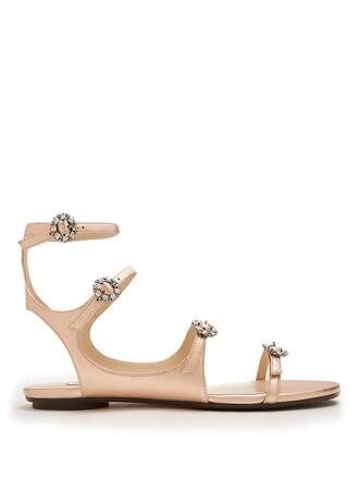 embellished sandals leather sandals leather rose gold rose gold shoes