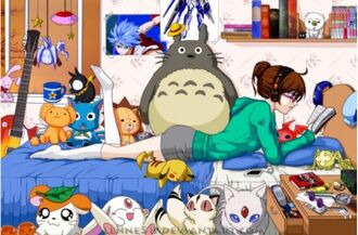 anime totoro sailor moon pokemon