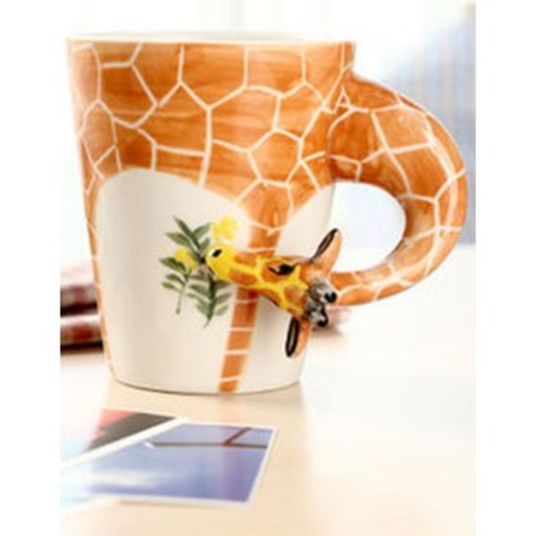 jewels cup fashion giraffe