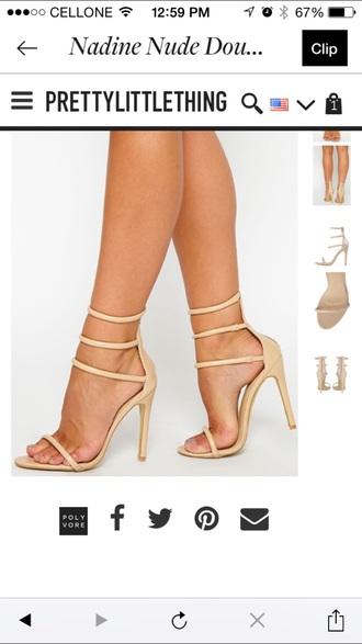 shoes heels nude high heels