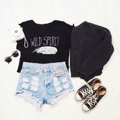 sweater,pullover,sunglasses,High waisted shorts,acid washed shorts,winter sweater,hipster,indie,tank top,shorts,shoes,cute,pretty,style,shirt,t-shirt,skirt,official brand tip,tie dye shirt,overalls,kimono,kids fashion,long dress,high low dress,long prom dress,chest x-ray,equality,blouse,men or female doesnt matter for this sweater,prom dress,micheal kors bag,fg dg,wedding dress,black,converse,wild spirit,top