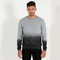 Dip-dye distressed jumper