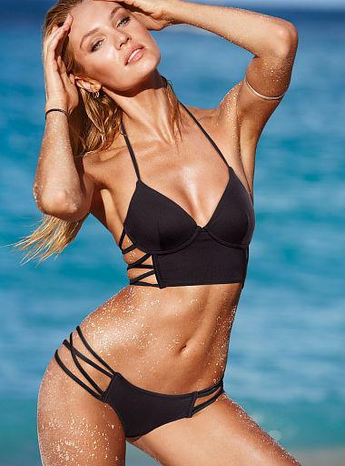 New Stylish Women's Swimwears Bikini Set Fashion Swimsuit Hot Sale Removable Chest Multi Strap Push Up Lift Black 2014-in Bikinis Set from Apparel & Accessories on Aliexpress.com | Alibaba Group