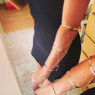 jewels accessories hand chain bangles