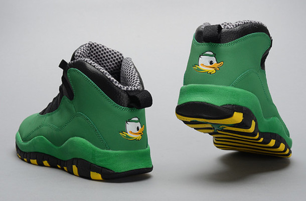 shoes oregon ducks jordan 10 dope