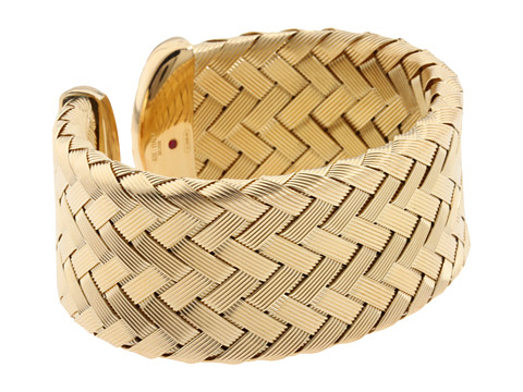 Roberto Coin Cuff Bangle Yellow - Zappos Couture