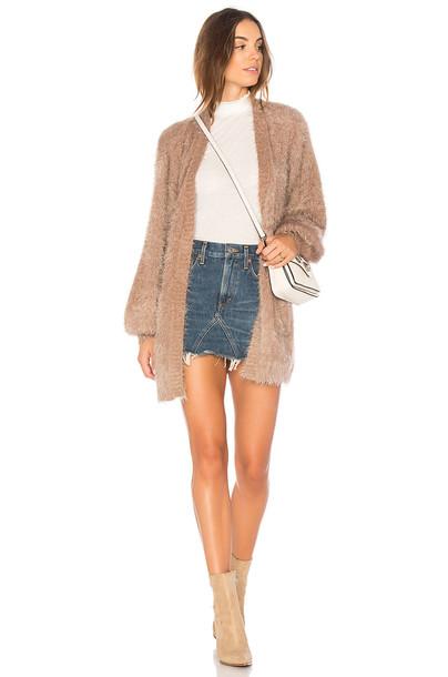 Somedays Lovin cardigan cardigan taupe sweater