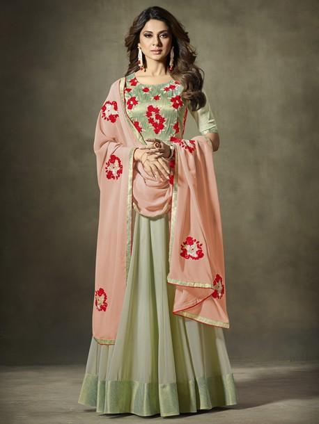 dress jennifer winget designer suit ethnic wear indian clothing women wear party wear