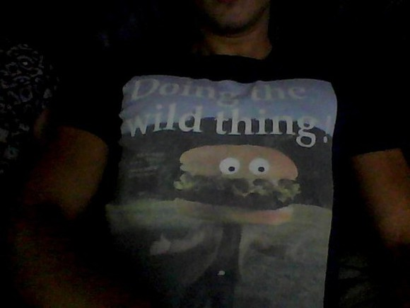 hamburger shirt tshirt