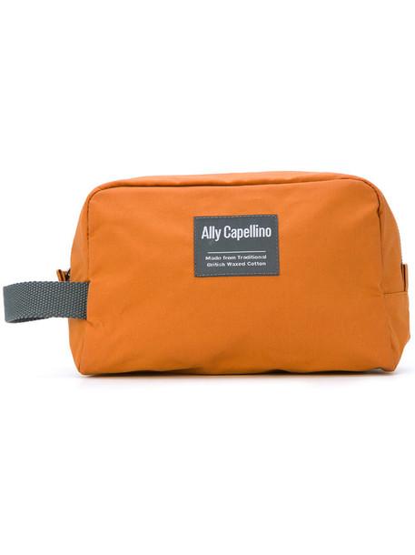 mini women bag cotton yellow orange