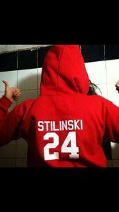 sweater,teen wolf,red,red sweater,stiles stilinski,stiles,24