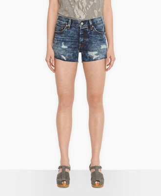 Levi's 501® Shorts - Authentic Destruction - Shorts & Capris