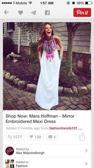 colorful maxi dress long dress