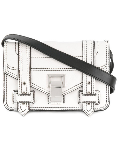 Proenza Schouler mini women leather white bag