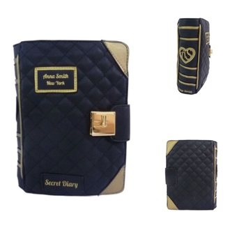 bag clutch purse handbag book clutch book purse book handbag anna smith diary clutch diary purse diary handbag whimsical secret diary