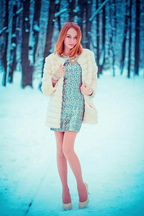 gvozdishe dress coat jewels