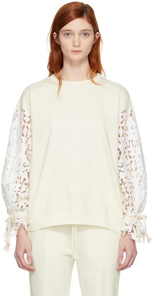 See by Chloe sweatshirt white sweater