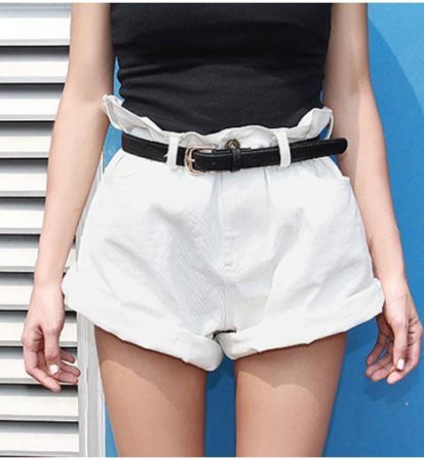 Oversized Jean Shorts