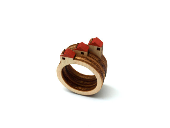 House Rings by CliveRoddy on Etsy