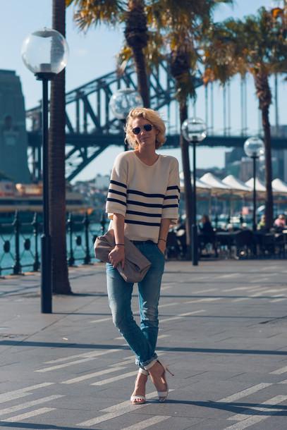 zanita shoes sweater jeans bag sunglasses