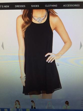 black little black dress shift dress