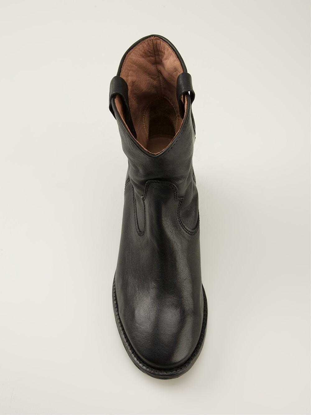 isabel marant 39 cluster 39 ankle boots. Black Bedroom Furniture Sets. Home Design Ideas