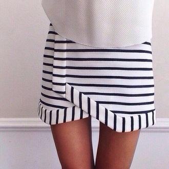 skirt striped skirt