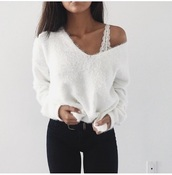blouse,white,long sleeves,new years resolution,weheartit