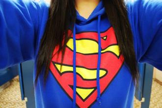 sweater suprmen superman super man  sweater