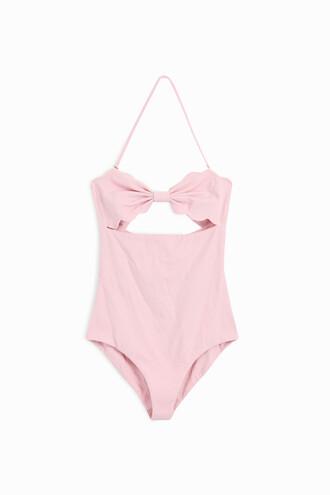 women rose swimwear