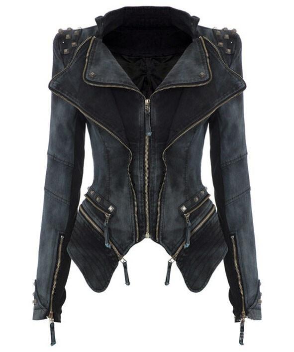 Retro slim jacket