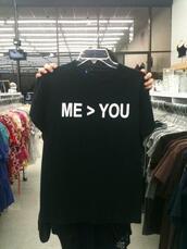 t-shirt,black t-shirt,geek,black,grunge,pastel goth,shirt,me. you.,kawaii,goth,asian fashion,me > you,cool