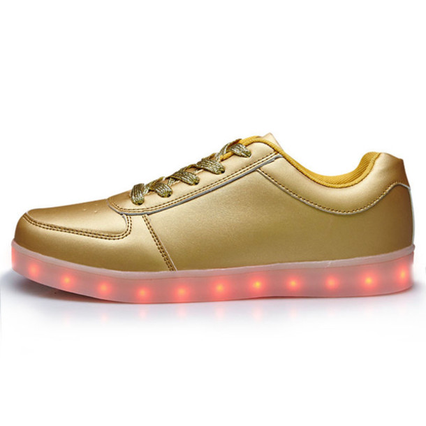 shoes led shoes gold led shoes women led shoes adult led shoes light up  shoes girls f8b6bfb3db6c