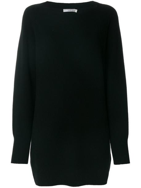 Vince dress women black wool