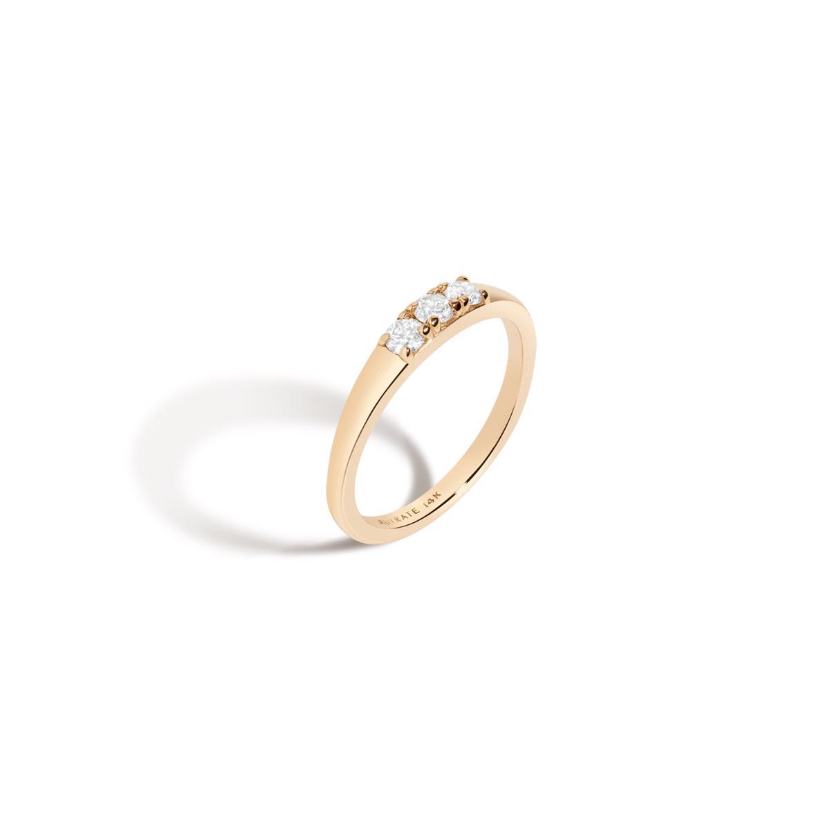 Bold Diamond Stacker Ring