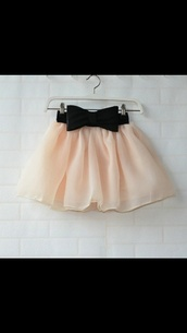 skirt,bow,pink,bubble