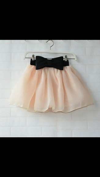 skirt pink bow bubble