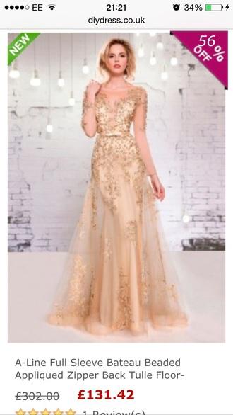 dress prom dress gown runway affordable lace dress chiffon dress champagne dress