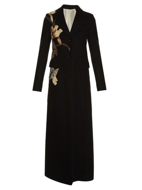 Valentino coat black