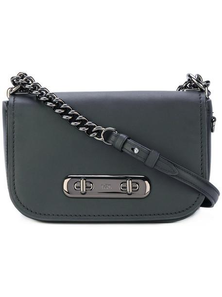 coach women bag shoulder bag leather black