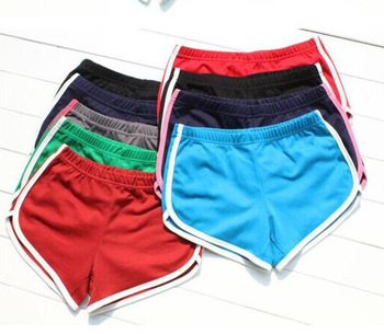 Waisted Leisure Running Jogging GYM Sports Shorts For Women ...