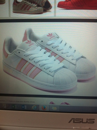 shoes adidas superstar trainers pink pink shoes adidas shoes adidas supercolor pink shoes cute