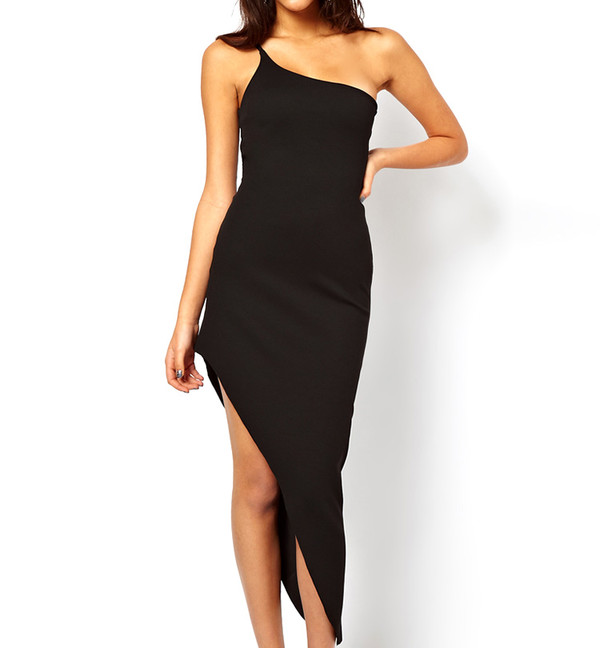 dress classic black fashion style