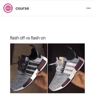 shoes champs nmd exclusive grey