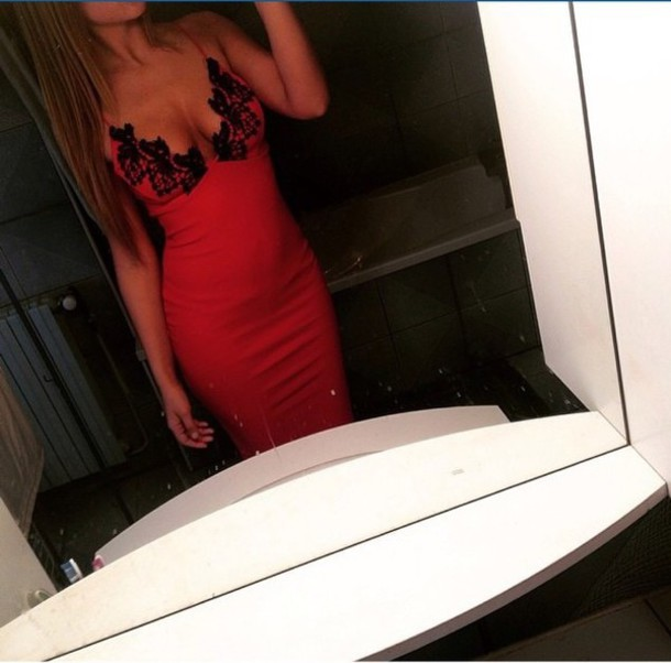 dress red dress flowers v plunge bralet v plunge midi dress